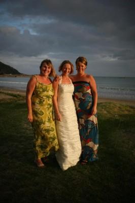 The beautiful bridesmaids.