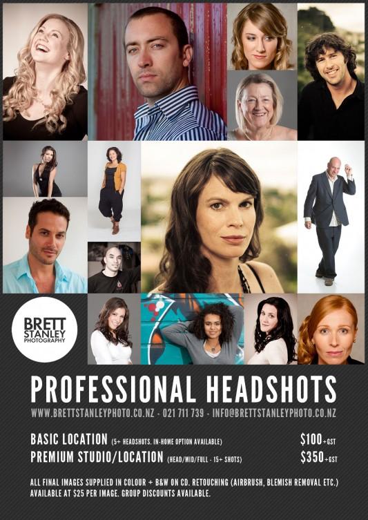Actor Headshots Wellington