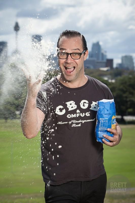 Aaron Harvie Australian Masterchef - Brett Stanley Advertising Photographer