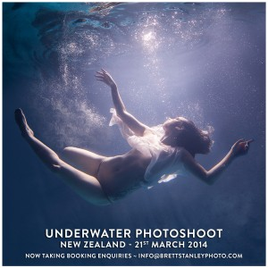 Underwater Photoshoot New Zealand
