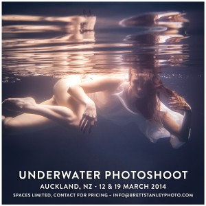 Underwater Photoshoot Auckland