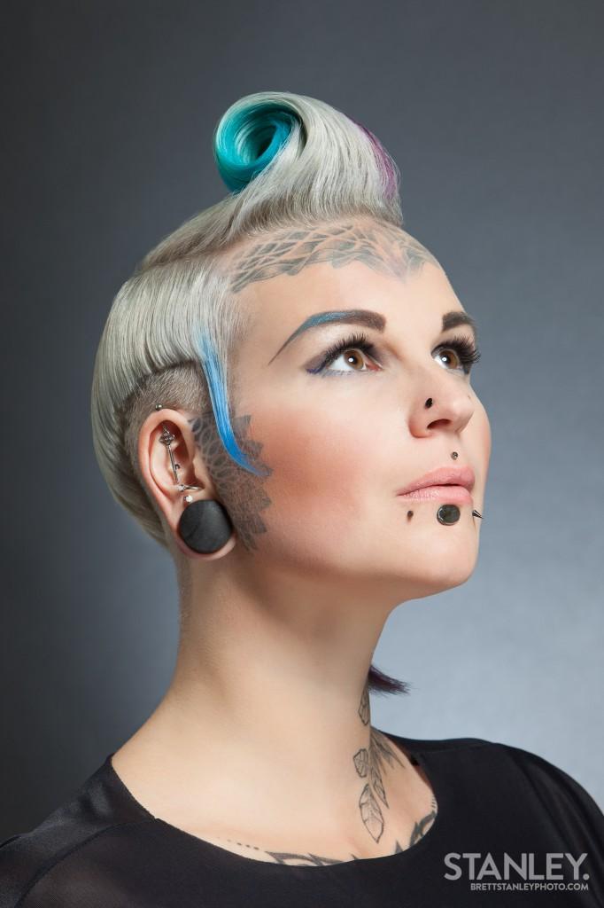 Natalie Jeffries (Lady Bonnet) Hairstylist - Brett Stanley Photography (2)