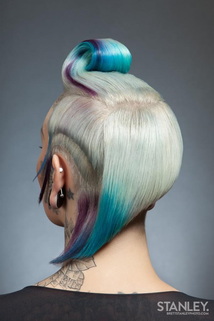 Natalie Jeffries (Lady Bonnet) Hairstylist - Brett Stanley Photography (3)