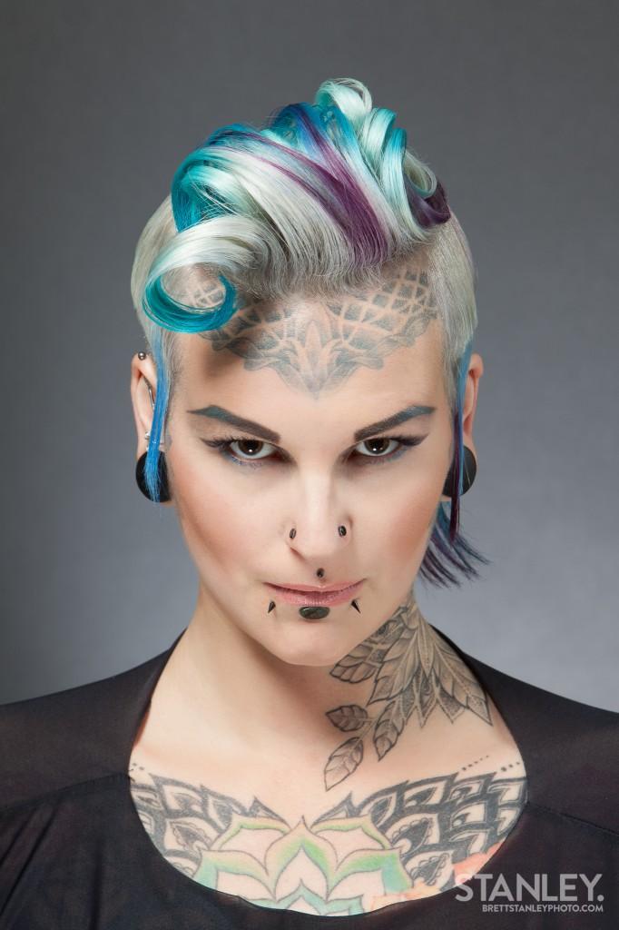 Natalie Jeffries (Lady Bonnet) Hairstylist - Brett Stanley Photography (4)
