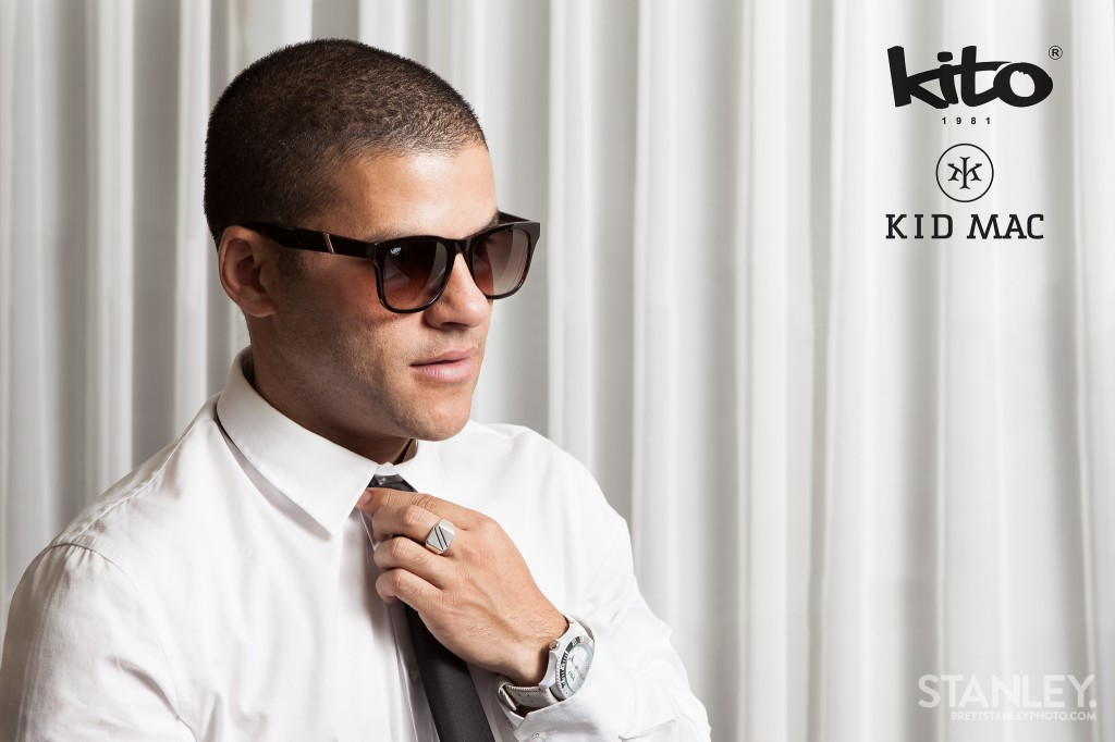 Kid Mac - Kito 1981 Sunglasses & Watches - Brett Stanley Photography