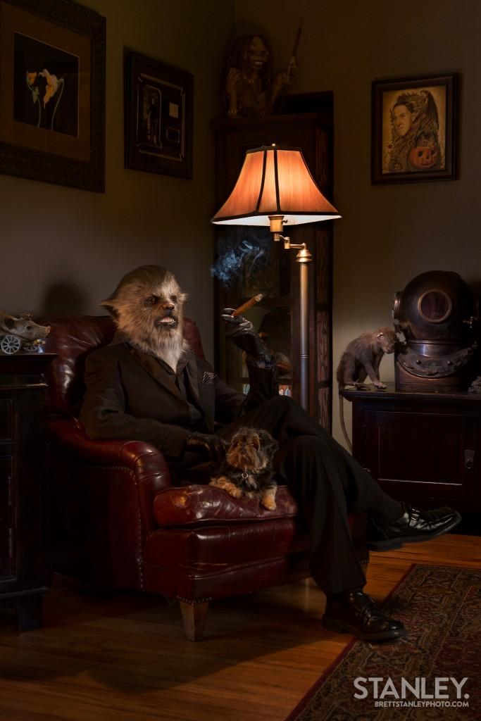 Wolfman Makeup - Kerrin Jackson Special Effects Artist - RBFX - Brett Stanley Photography (1)