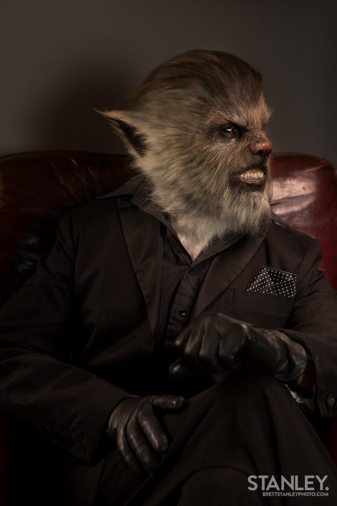 Wolfman Makeup - Kerrin Jackson Special Effects Artist - RBFX - Brett Stanley Photography (5)