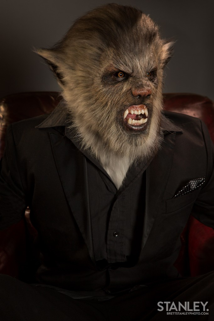 Wolfman Prosthetic Amp Make Up Kerrin Jackson Brett