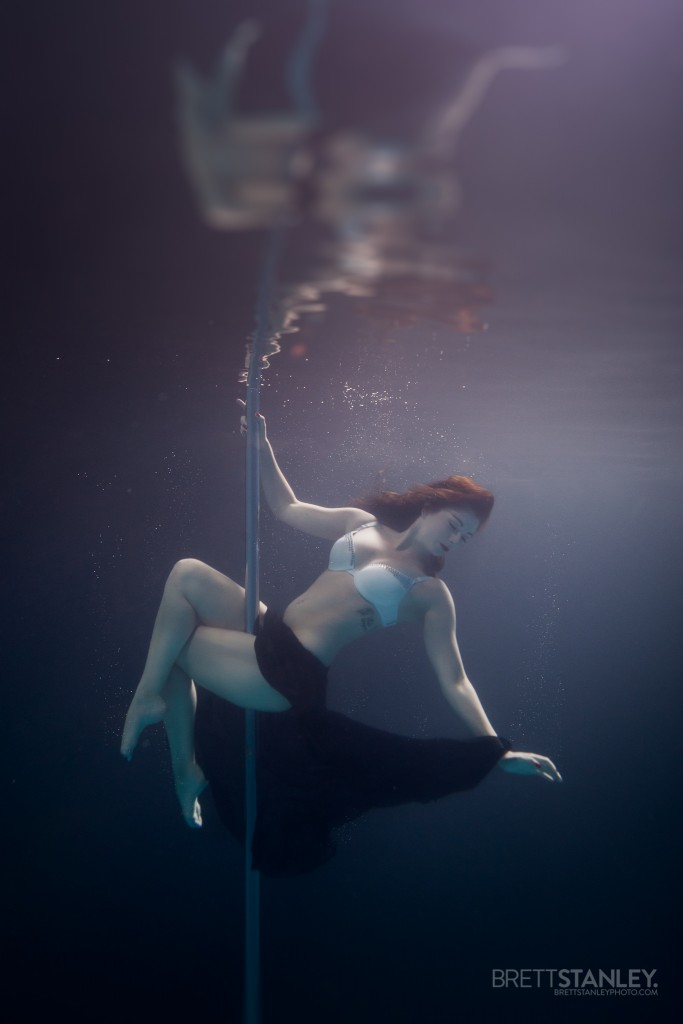Underwater Pole Dance/Fitness - Brett Stanley Photographer