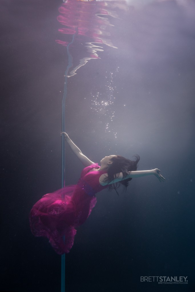 Underwater Pole Dance/Fitness - Brett Stanley Photographer
