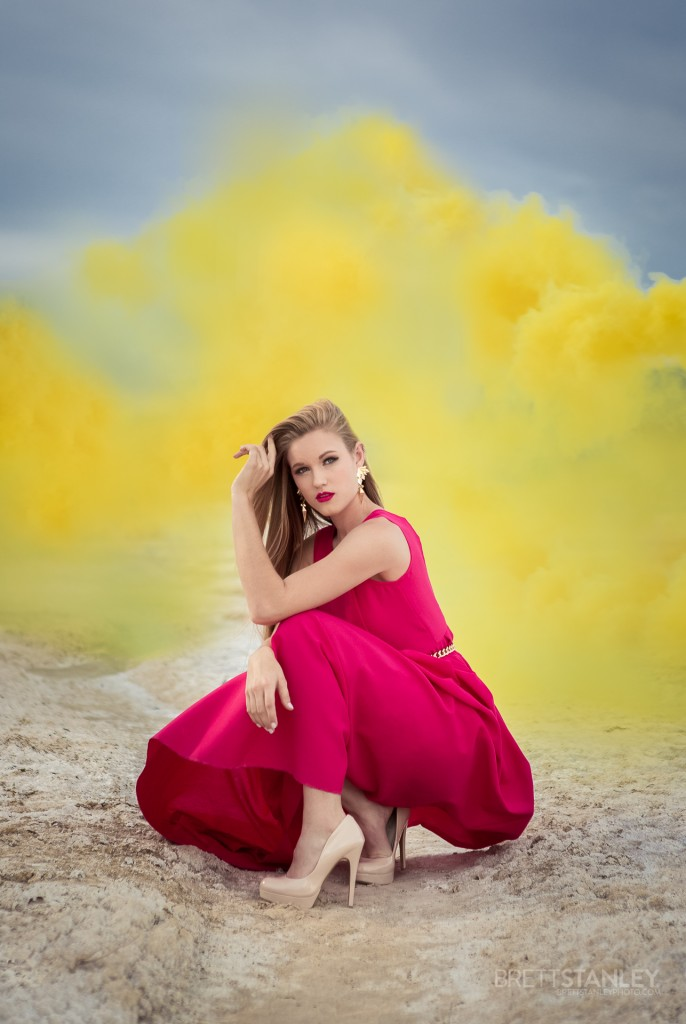 Fashion editorial with smoke bombs - Brett Stanley (1)